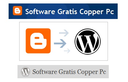 CopperPC blogger a wordpress