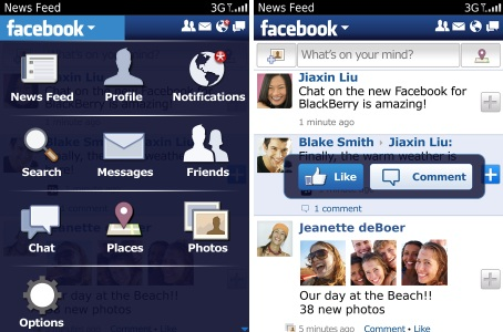 Facebook 2.0 BlackBerry