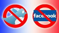bloqueo twitter facebook