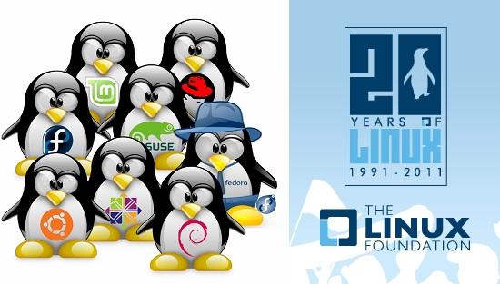 linux 20 años