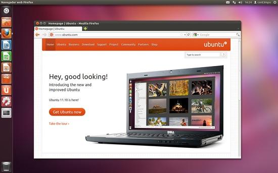 escritorio ubuntu 11.10
