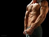hombre musculoso torso